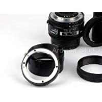Macro Extension Tube Set for Nikon D90, DX, D90, D40, D60, D80, D70, D40x, D50, D70s, D300s, D700, D300, DX, D200, D100, D3000, D5000, D3s, D3x, D3, D1, D2x Digital SLR DSLR Camera