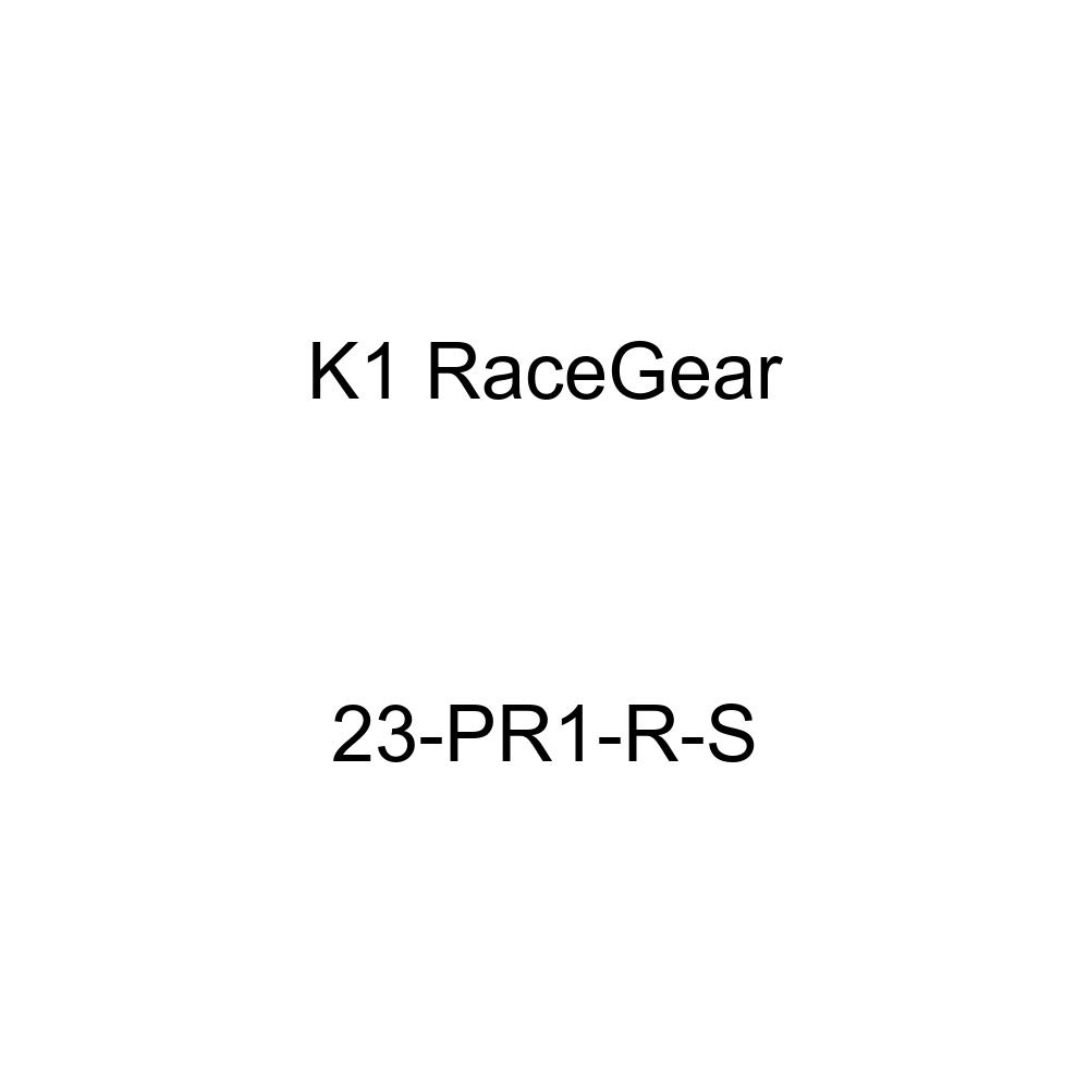 Red, X-Large 23-PR1-R-XL K1 RaceGear Pro-X SFI Auto Racing Gloves