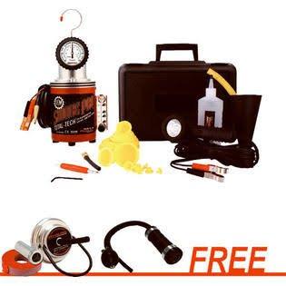 Smoke Pro Total Tech Diagnostic Leak Detector Kit Tools Equipment Hand Tools ()