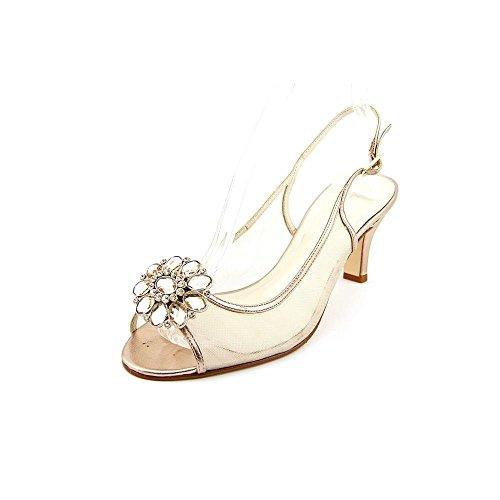 Caparros - Sandalias de vestir para mujer melocotón