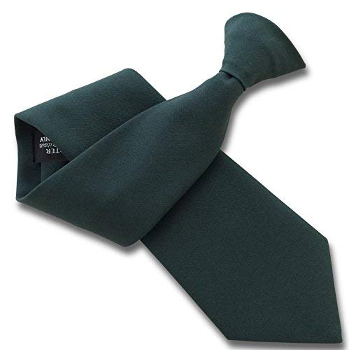 6ca81d6b3393 Men's Plain Clip On Ties - Great British Tie Club (Brown): Amazon.co.uk:  Clothing