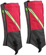 1 Pair Waterproof Snow Legging Gaiters Leg Covers Rugged Outdoor Walking Hiking Climbing