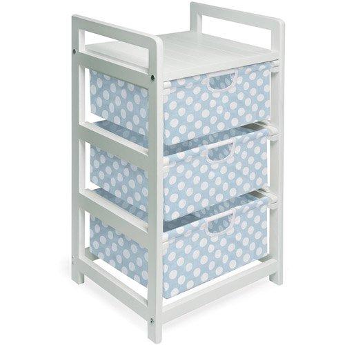 Badger Basket 3-Drawer Hamper/Storage Unit, White