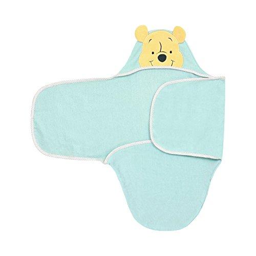 Disney Baby Winnie The Pooh Bath Swaddler, Yellow
