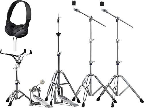(Yamaha HW-680W Double-Braced Hardware Pack with Bonus On-Ear Stereo Headphones)