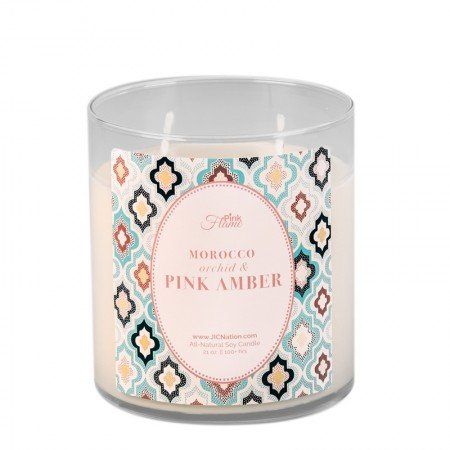 Amazon com : Jewelry In Candles ~ Morocco Orchid & Pink Amber Pink