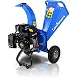 "Landworks Mini Wood Chipper Shredder Mulcher Super Heavy Duty 7 HP 212cc Gas Powered 3"" Inch Max Wood Diameter Capacity…"