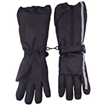N'Ice Caps Boys Thinsulate and Waterproof Elbow Length Reflector Snow Gloves