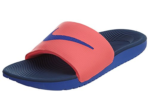 7d884f2f1 Nike Kawa Slide Womens Slippers (HOT PUNCH PARAMOUNT BLUE-PARAMOUNT BLUE)  (6 B(M) US) - Buy Online in UAE.