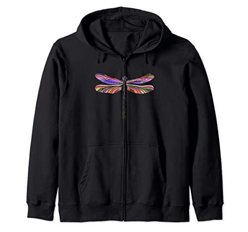 - Womens Dragonfly Design, spiritual & inspiring, Dragonflies Zip Hoodie