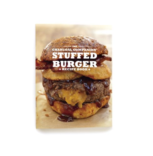 Charcoal Companion Stuffed Burger Recipe Book - CC3913