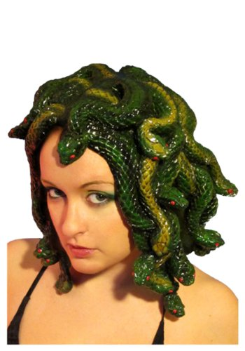Trick or Treat Studios Medusa Latex Wig, Multi, One Size]()