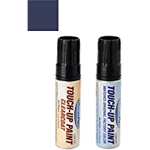 ExpressPaint Half-Ounce Jar Ford F-Series, F150, F250, F350 Automotive Touch-up Paint - Blue Jeans Metallic Clearcoat N1 - Basic Package