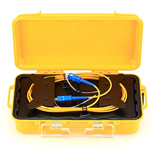 SC/UPC OTDR Launch Cable Box 1km Extension Cord Single Mode OTDR Test Blind Area 1310/1550nm
