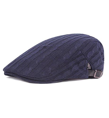 - Sumolux Mens Classic Adjustable Beret Ivy Irish Hat Flat Cotton Newsboy Cap