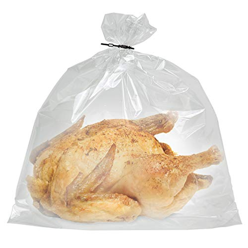 Jerina Premium Turkey Oven Bags Nylon Home And Garden Bags- 100 Counts(19 x 23.5 inches) (100) by Jerina Enterprise (Image #1)