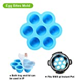 Silicone Egg Bites Mold with Trivet