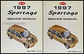 1997 kia sportage repair shop manual 2 volume set original amazon rh amazon com 1997 kia sportage repair manual pdf 1997 kia sportage repair manual pdf