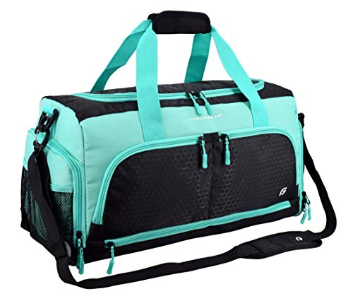Ultimate Gym Bag 2.0: The Durable Crowdsource Designed Duffel Bag with 10 Optimal Compartments Including Water Resistant…