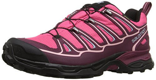 Salomon Herren Speedcross 4 CS Trail Laufschuhe Pink / Bordeaux / Pebble Blue