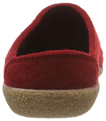 Homme Blizzard paprika 42 Credo Rouge Haflinger Mules Chaussons RHxIqwBw