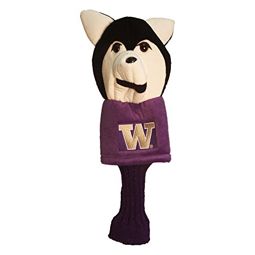 (Team Golf NCAA Washington Huskies Mascot Golf Club Headcover, Fits most Oversized Drivers, Extra Long Sock for Shaft Protection, Officially Licensed Product )