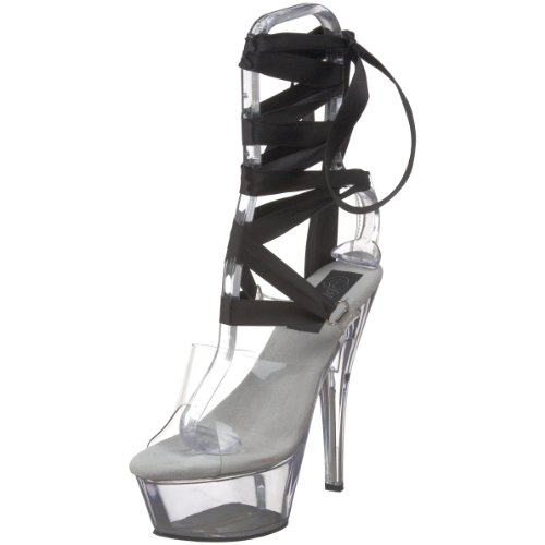 Donna Plateau 295 Transparent Pleaser Kiss wxAOqWP1