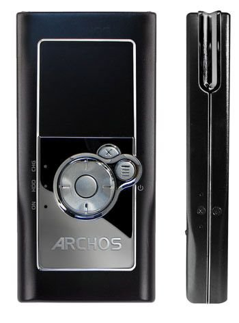 amazon com archos 104 6gb mp3 and wma digital music player and rh amazon com