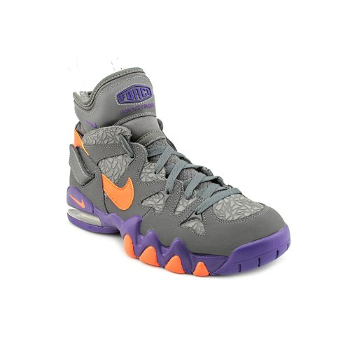 Nike Air Max 2 Strong Mens Athletic Fashion Sneakers Dark Grey/Electric Orange-court Purple real sale limited edition footaction sale online high quality cheap online M0BjO