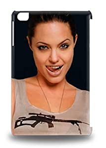 Ipad High Quality Tpu 3D PC Case Angelina Jolie American Female Angel Catwoman Bunny Mr Smith And Mrs Smith Tomb Raider 3D PC Case Cover For Ipad Mini/mini 2 ( Custom Picture iPhone 6, iPhone 6 PLUS, iPhone 5, iPhone 5S, iPhone 5C, iPhone 4, iPhone 4S,Galaxy S6,Galaxy S5,Galaxy S4,Galaxy S3,Note 3,iPad Mini-Mini 2,iPad Air )