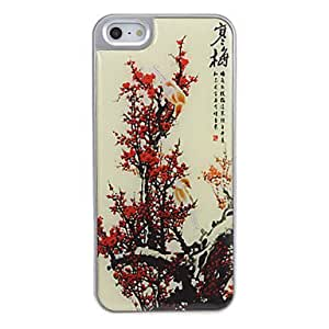 Buy Ancient Ink Painting of Red Plum Pattern Light Hard Case for iPhone 5/5S