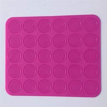 Amazon com: PAPWOO Silicone Baking Mat 30 Holes Non Stick