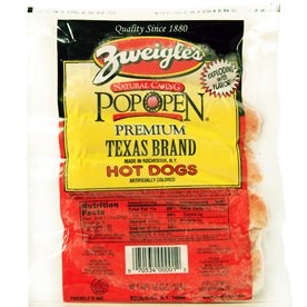 Zweigle's Texas Brand Red Hots 6LBS by Zweigle's