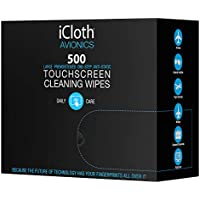 iCloth Large Screen Cleaning Wipes | Case of 500...