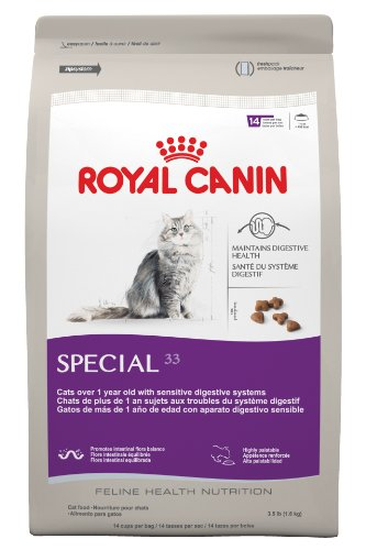 Royal Canin Dry Cat Food, Special 33 Formula, 7-Pound Bag, My Pet Supplies
