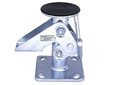 "Colson Floor Lock Brake Works with 4"" Caster with 4"" x 4-1/2"" Top Plate 9-6045-4"