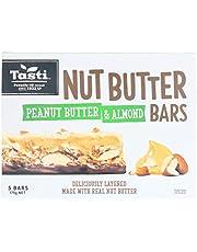 Tasti Nut Bars Peanut Butter and Almond, 175 g