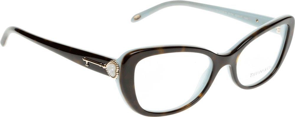 fc4e98b0578c TIFFANY TF 2105H Eyeglasses 8134 Havana Blue 52-17-140  Amazon.co.uk   Health   Personal Care