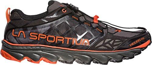 La Sportiva Helios 2.0, Scarpe da Trail Running Uomo Multicolore (Black / Tangerine 000)