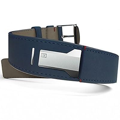 Klokers klink-01 klok-01 klok-02 watchband strap leather blue indigo from klokers