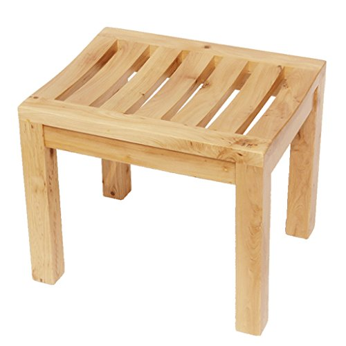 Benches Shower Bathroom Stool Solid Wood Stool Combative Stool Old Man, Pregnant Woman, Children
