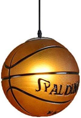 E27 Industrie Basketball Plafonnier LED Lampe Suspension Salon lustre Hauteur réglable