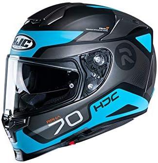 Motorcycle helmets HJC RPHA 70 SHUKY MC4SF L Black//Blue