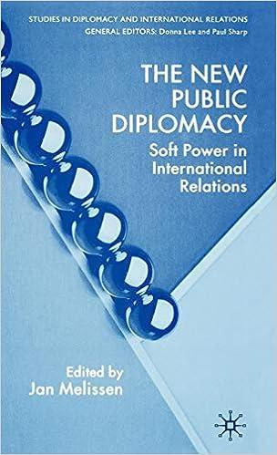 Amazon com: The New Public Diplomacy: Soft Power in International