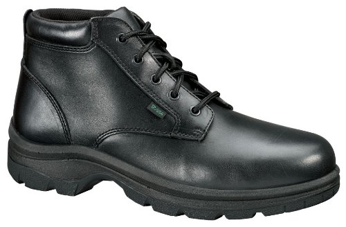 Thorogood Women's Plain Toe Chukka Boots,Black,8.5 M by Thorogood