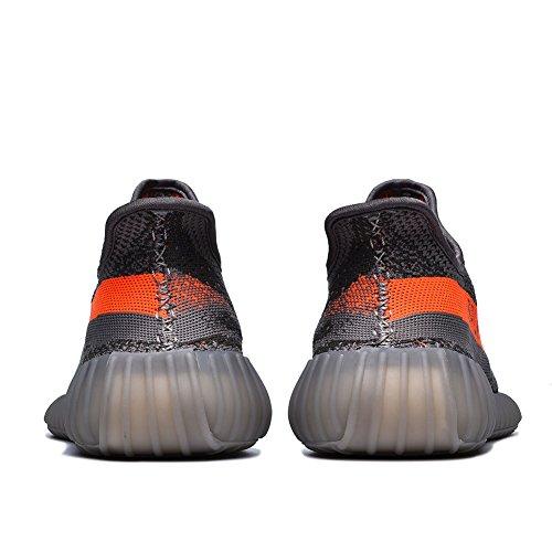 Aumern Heren 350 V2 Lichtgewicht Sneakers Loopschoenen Snaeker-grijs / Oranje
