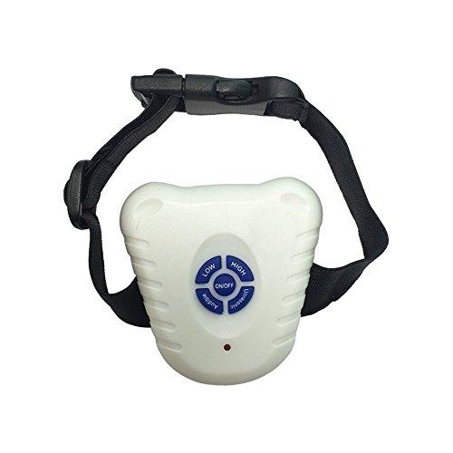 SUKRAGRAHA Humane Ultrasonic Dog Training Anti-Bark Water Resist Bark Control Collar 26 to 40cm