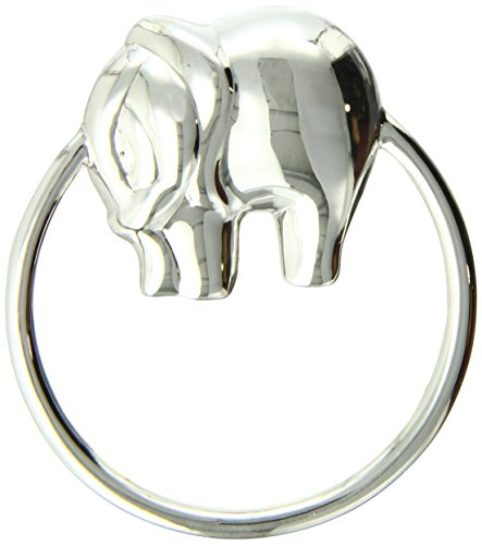 Krysaliis Sterling Silver Baby Rattle, Elephant Ring by Krysaliis
