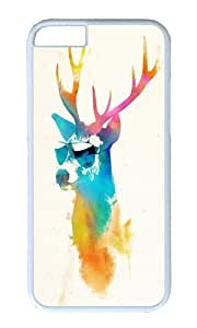 Apple Iphone 6 Case,WENJORS Awesome Sunny Stag Hard Case Protective Shell Cell Phone Cover For Apple Iphone 6 (4.7 Inch) - PC White hjbrhga1544