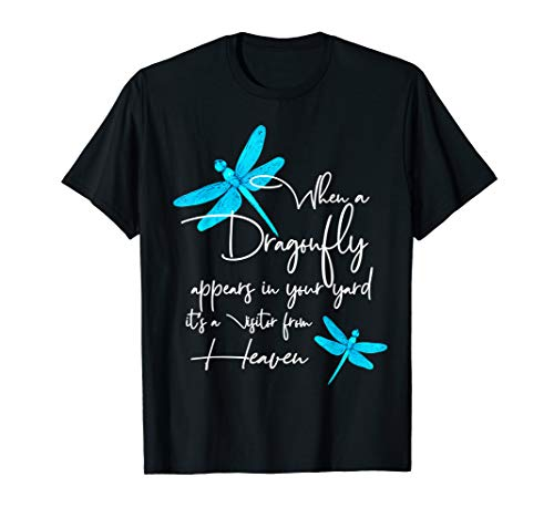 Dragonfly shirt for women spiritual faith dragonflies lovers